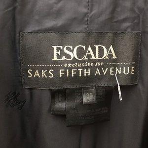 Escada Jackets & Coats - Escada Deep Blue Asymmetrical Seamless Blazer